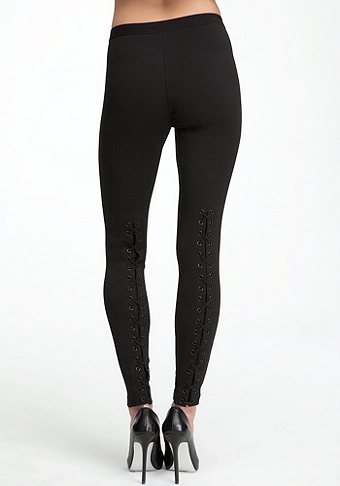 bebe Back Lace Legging