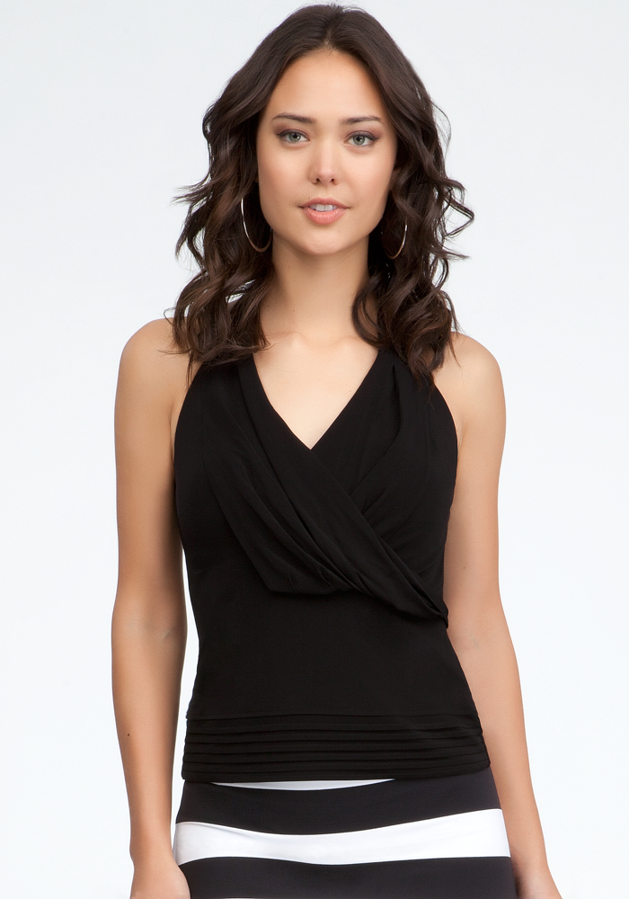 Pleated Halter Top from shotfashion.com