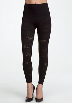 Textured Lace Leggings - ONLINE EXCLUSIVE at bebe