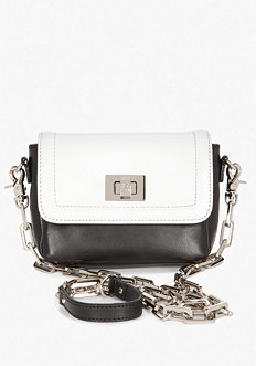 bebe Newport Leather Crossbody