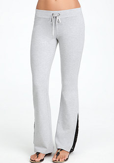bebe Lace Skinny Fit Pant - ONLINE EXCLUSIVE