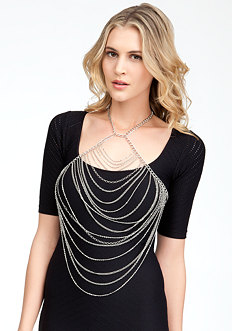 bebe Drape Body Jewelry