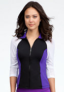 bebe Mesh Sleeve Funnel Jacket - BEBE SPORT ONLINE EXCLUSIVE