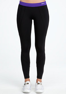Colorblock Leggings - BEBE SPORT ONLINE EXCLUSIVE at bebe