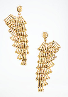 bebe Tiered Wing Earring