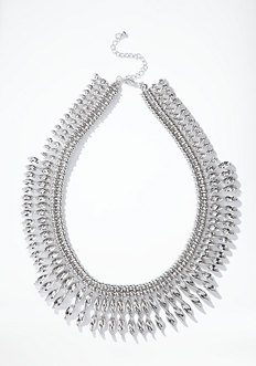bebe Tribal Statement Necklace