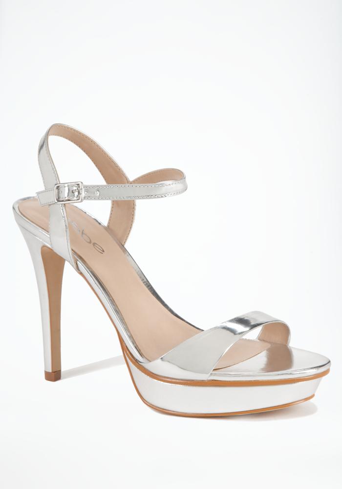 Patrice Metallic Strap Sandal