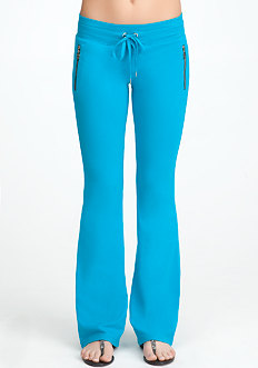 bebe Logo Exposed Zipper Pant - ONLINE EXCLUSIVE