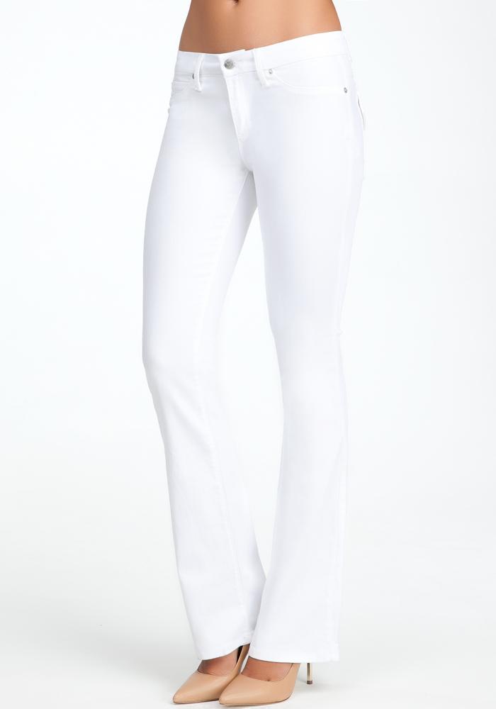 Flap Pocket Bootcut Jeans