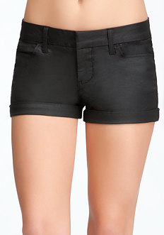 Jeather Trouser Shorts at bebe
