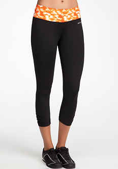 bebe Print Run Crop Pant - BEBE SPORT ONLINE EXCLUSIVE