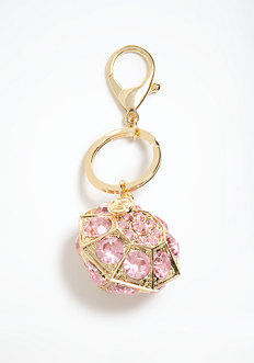bebe Diamond Keychain