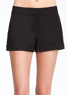 bebe Cuffed Trouser Short