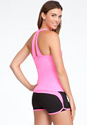 bebe Scoop Neck Tank - BEBE SPORT ONLINE EXCLUSIVE