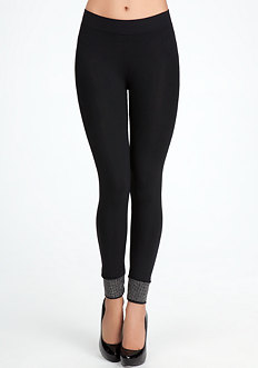 Studded Ankle Leggings - ONLINE EXCLUSIVE at bebe