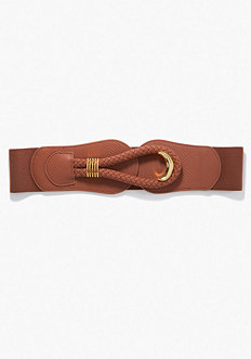 Braided Closure Stretch Belt - ONLINE EXCLUSIVE at bebe