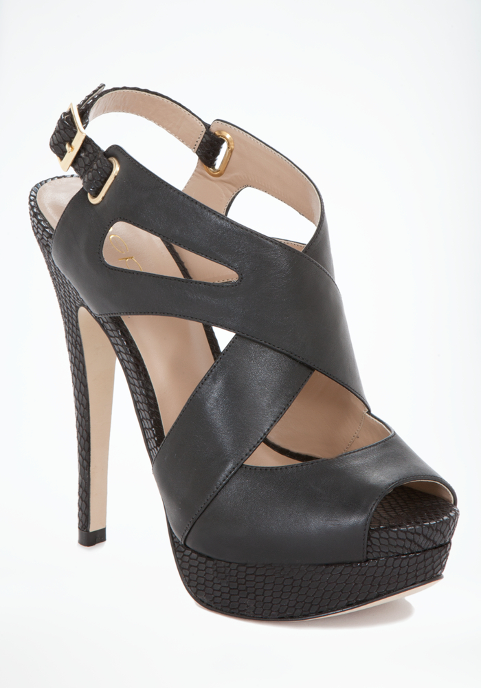 Taj Cross Strap Sandals