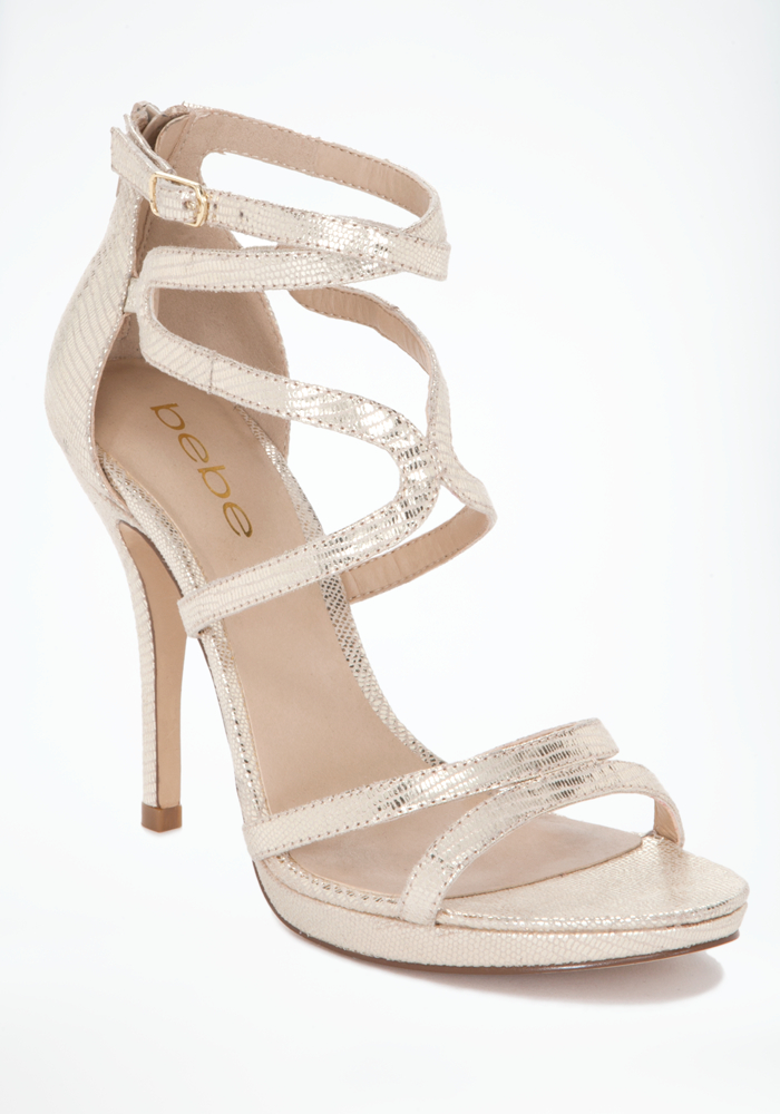 Ebony Strappy Evening Sandals Bebe