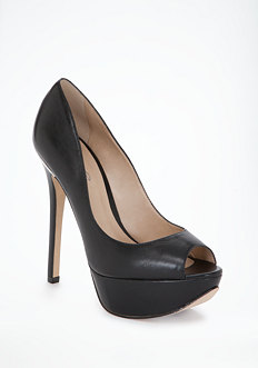 bebe Pat Peep Toe Pumps