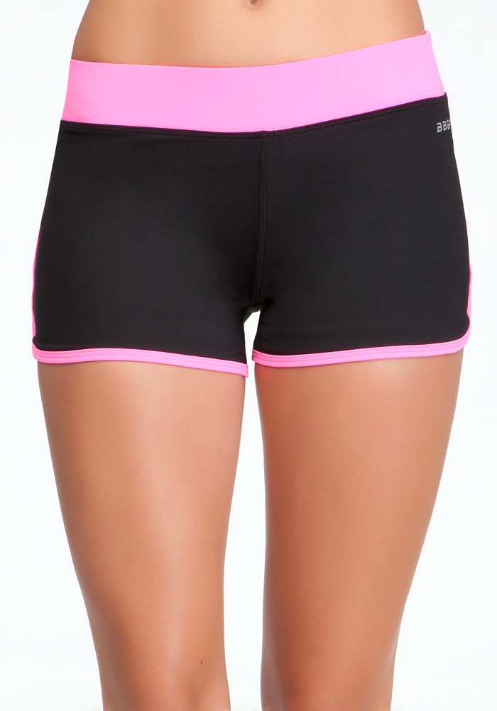 Colorblock Run Shorts - BEBE SPORT ONLINE EXCLUSIVE