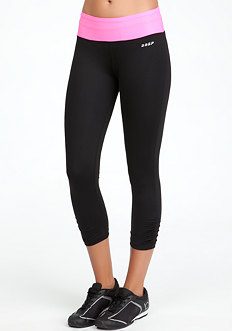bebe Colorblock Run Crop Pant - BEBE SPORT ONLINE EXCLUSIVE