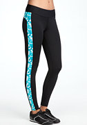 bebe Print Colorblock Legging - BEBE SPORT ONLINE EXCLUSIVE
