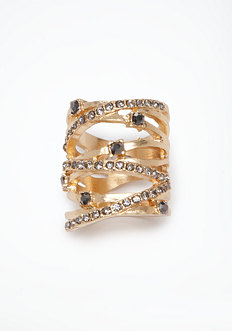 bebe Stone Wrap Around Ring