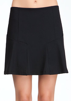 bebe Mini Flounce Skirt