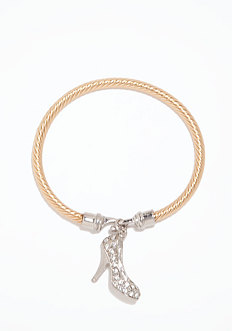 Pump Twisted Bracelet at bebe