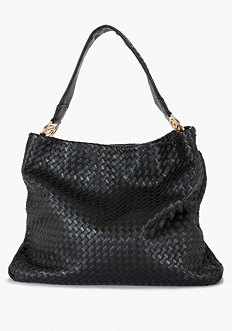 Signature Woven Hobo - ONLINE EXCLUSIVE at bebe