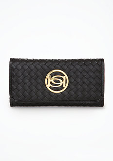 Signature Woven Wallet - ONLINE EXCLUSIVE at bebe