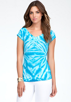 Logo Tie Dye Tee - ONLINE EXCLUSIVE at bebe