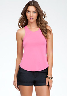 High Low Tank Top at bebe