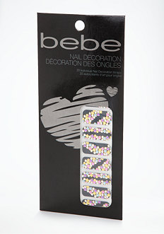 bebe Confetti Nail Decoration