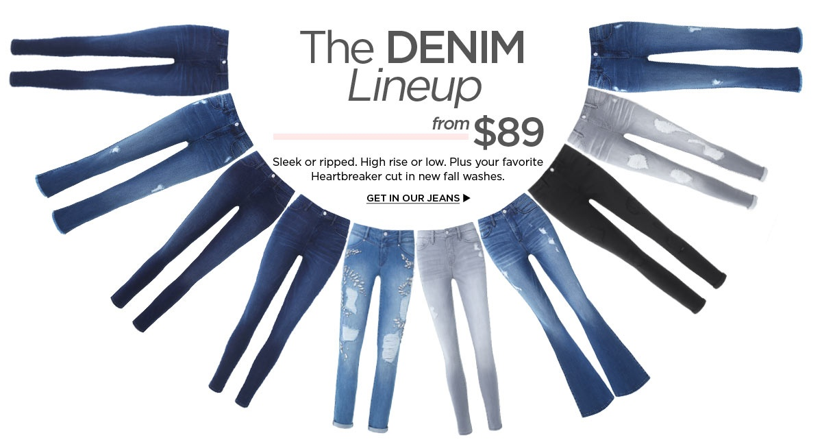 The Denim Lineup