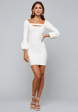 Bebe Madelyn Bandage Dress