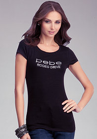 Logo Rodeo Drive Tee at bebe