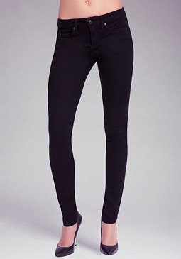 Signature Stretch Skinny Jeans at bebe