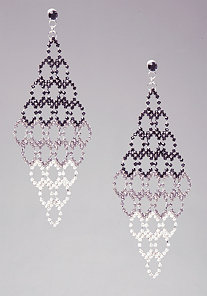 Tiered Ombre Earring at bebe
