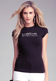 Logo Beverly Hills Tee at bebe