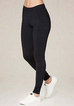 V Yoke Leggings at bebe