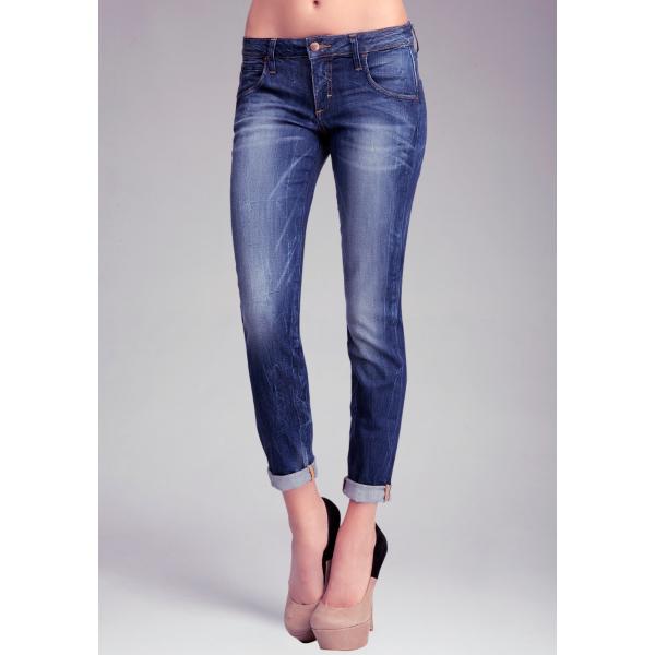 Faded Skinny Boyfriend Jeans | bebe
