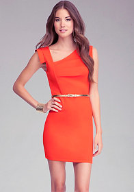 Eloise Asymmetric Dress at bebe