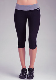Basic Capri Pant - BEBE SPORT ONLINE EXCLUSIVE at bebe