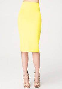 Knit Midi Skirt at bebe