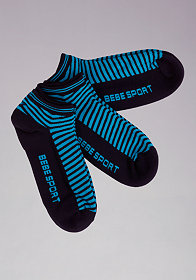 bebe Chevron Sock 3 Pack - BEBE SPORT