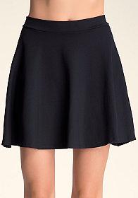 Mini Circle Skirt at bebe