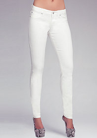 Mystic Color Icon Skinny Jeans at bebe