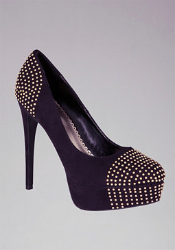 Roxy Studded Pump at bebe