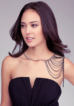 Crystal Shoulder Jewelry at bebe